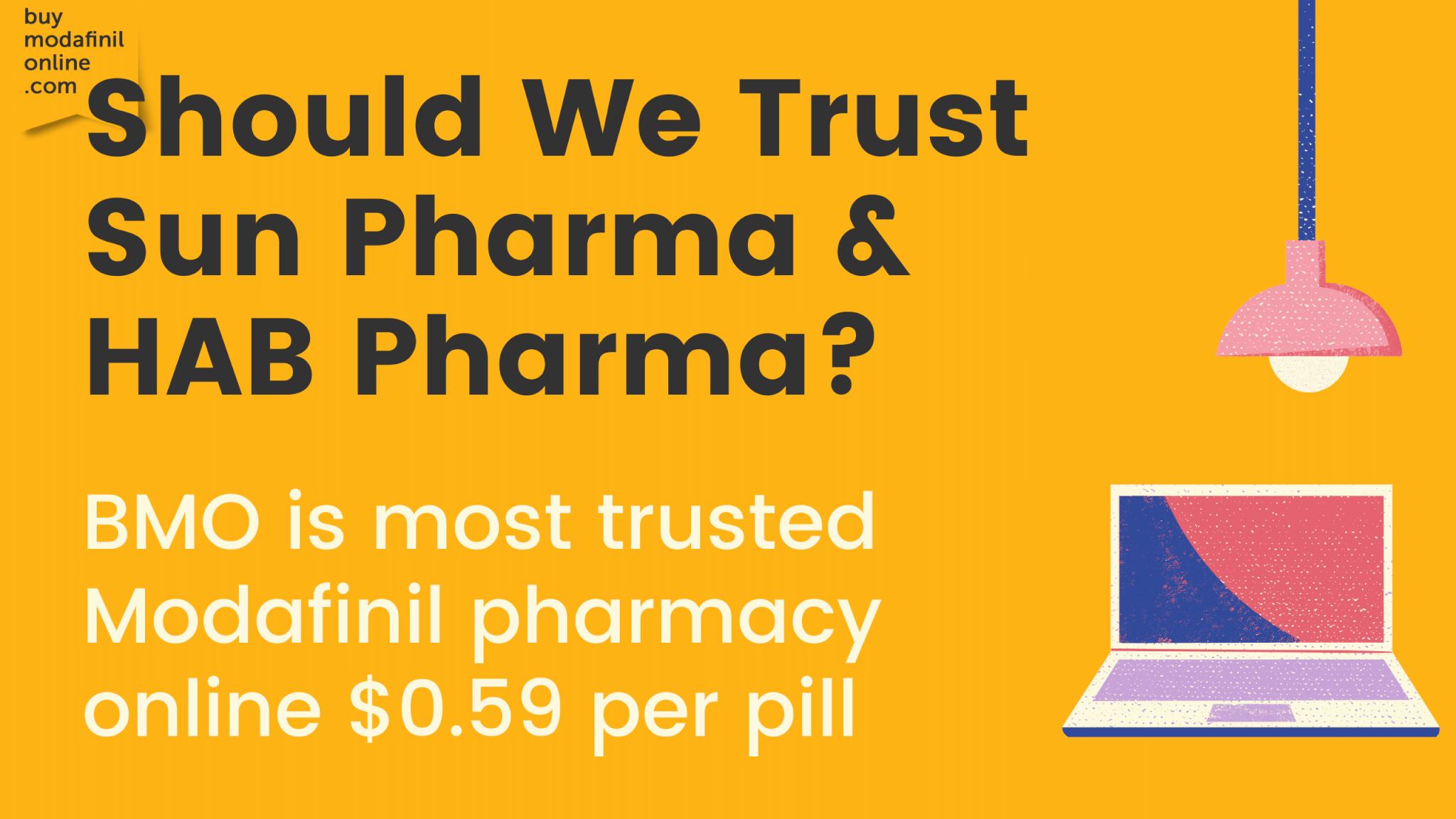 ¿Por qué podemos confiar en Sun Pharma y HAB Pharma?