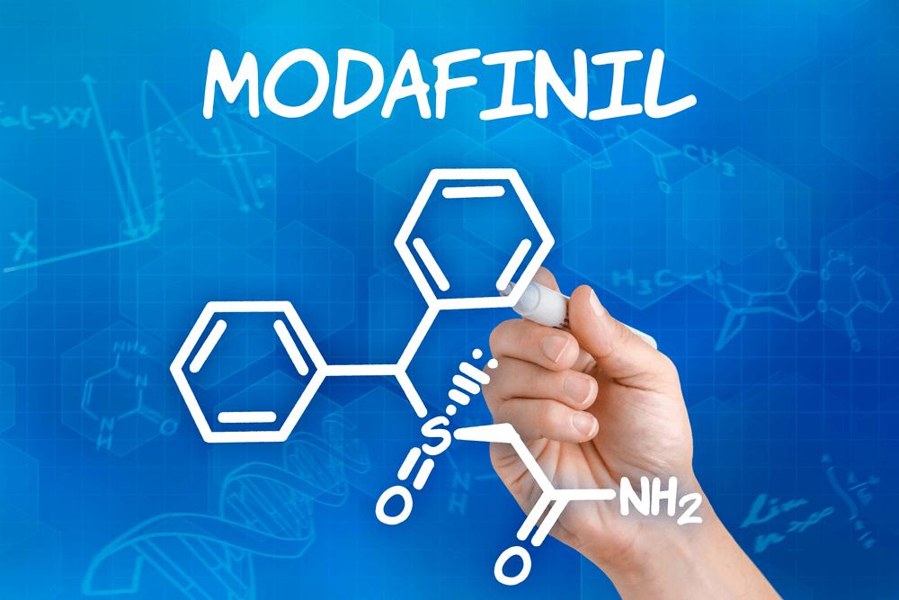 Chemische Formel von Modafinil